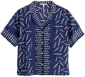 Alex Mill Silk Cotton Arrows Shirt in Arrow Print
