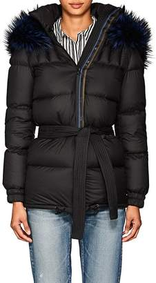 Mr & Mrs Italy Women's Fur-Trimmed Down Puffer Coat