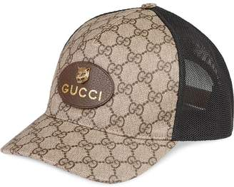 Gucci GG Supreme baseball hat