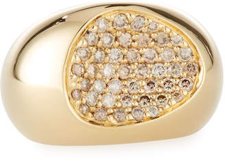 Roberto Coin CapriPlus 18k Diamond Ring Size 6.5