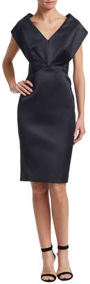 Zac Posen Structure Sheath Dress