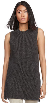 Polo Ralph Lauren Wool-Cashmere Sleeveless Tunic $145 thestylecure.com