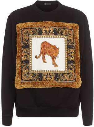Versace Baroque Patch Sweater