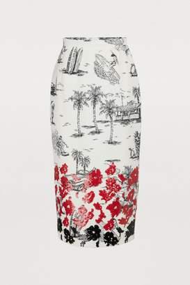 N°21 N 21 Sequin midi skirt