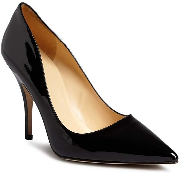 kate spade new york Licorice Patent High Heel Pointed Toe Pumps