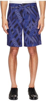 Versace Collection - Printed Shorts Men's Shorts $575 thestylecure.com