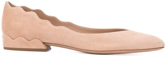 Chloé low-hell ballerina shoes