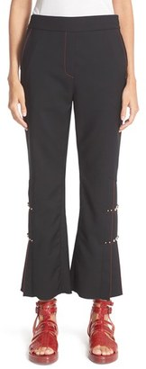 Women's Ellery Montana Cropped Suiting Pants $1,440 thestylecure.com