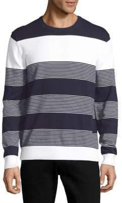 Black & Brown Black Brown Striped Ribbed Sweater