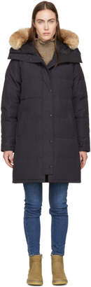 Canada Goose Navy Down Shelburne Regular Parka
