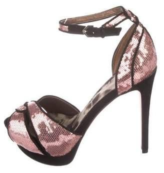 Sam Edelman Sequin Platform Sandals