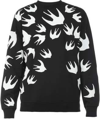 McQ Swallow Swarm Sweatshirt