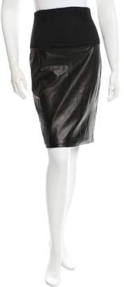 The Row High-Waisted Knee-Length Skirt