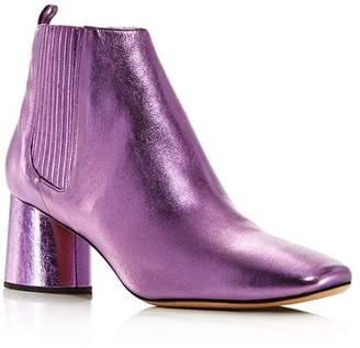 Marc Jacobs Women's Rocket Round Block Heel Chelsea Booties