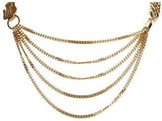 Fendi Vintage Chain Bib Necklace