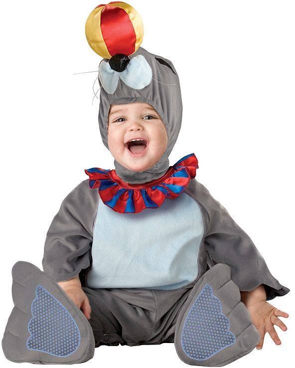 Silly seal costume - baby