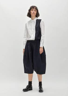 Comme des Garcons Polyester S-Twill Drawstring Pant Navy