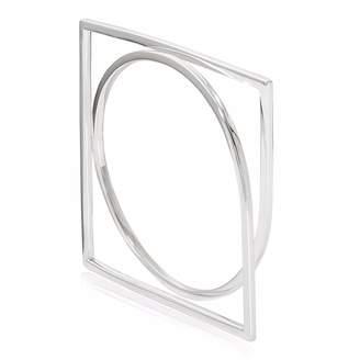 Neola - Engima Sterling Silver Bangle