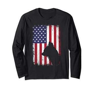 Chinese Crested American Flag Shirt USA Patriotic Shirt