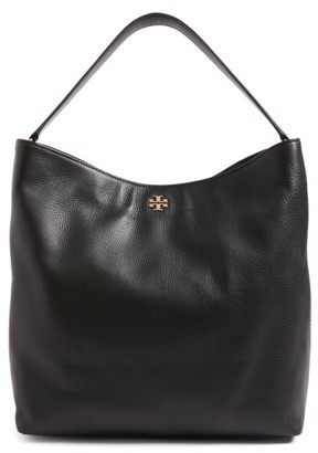 Tory Burch Frida Leather Hobo - Black $478 thestylecure.com