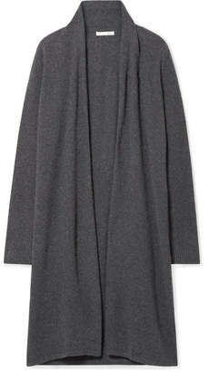 Skin - Guilia Rib-trimmed Cashmere Cardigan - Charcoal