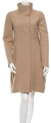 Marni Wool Mock Neck Coat