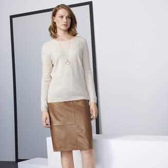 08b1d216d Anne Weyburn Leather Pencil Skirt