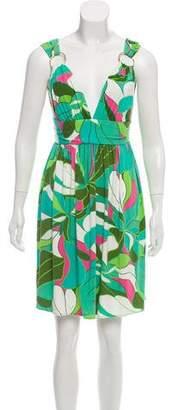 Milly Printed Mini Dress