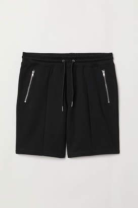 H&M Jersey Sports Shorts - Black