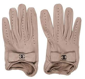 Chanel Lambskin CC Gloves