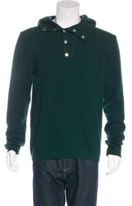 Balmain Wool Knit Hoodie w/ Tags