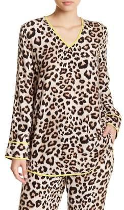 Equipment Dalton Silk Leopard Tunic