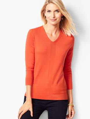 Talbots Modern V-Neck Sweater