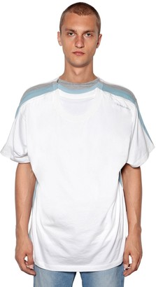 Y/Project Y Project FOUR-LAYER COTTON JERSEY T-SHIRT