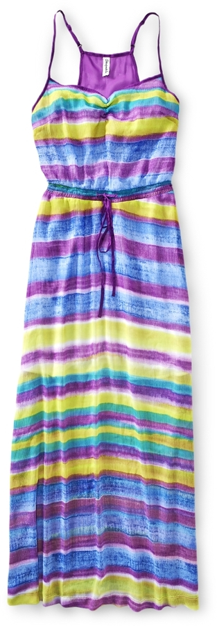 Aeropostale Painterly Maxi Dress