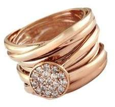 Effy Diamond And 14K Rose Gold Ring
