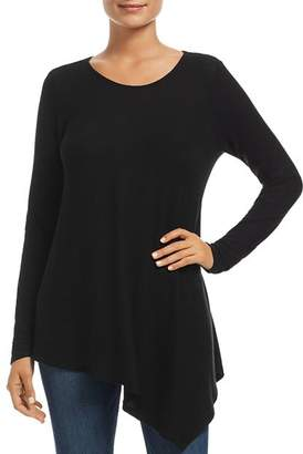 Three Dots Flowey Asymmetric Tunic