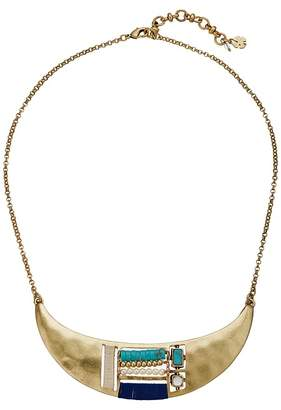 Lucky Brand Beaded Inset Collar Necklace Necklace