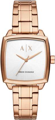 Armani Exchange A|X  Women's Quartz Stainless Steel Casual Watch, Color:-Toned (Model: AX5453)