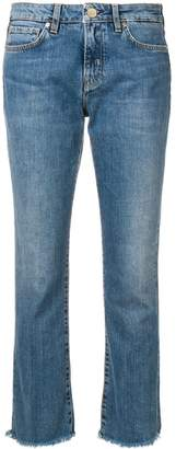 Two Denim low rise cropped jeans