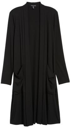 Women's Eileen Fisher Long Jersey Cardigan $218 thestylecure.com