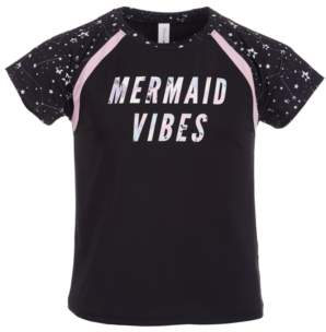 Ideology Big Girls Mermaid Vibes Rash Guard, Created for Macy's