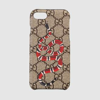 Gucci Kingsnake print iPhone 8 case