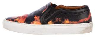 Givenchy Flame Leather Sneakers