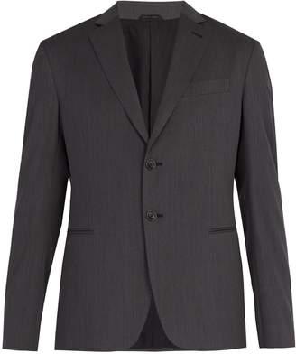 Giorgio Armani Single-breasted wool jacket