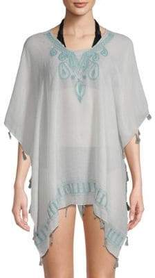 Embroidery Tassle Cover-Up