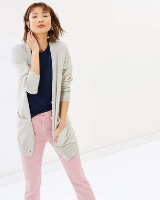 J.Crew Long Lurex Cardigan