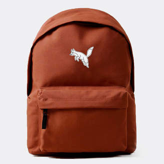Art Disco 'Fox' Rust Embroidered Backpack