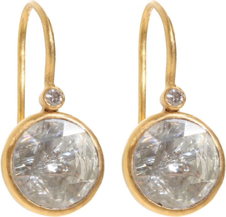 Munnu Diamond Kundan Drop Earrings