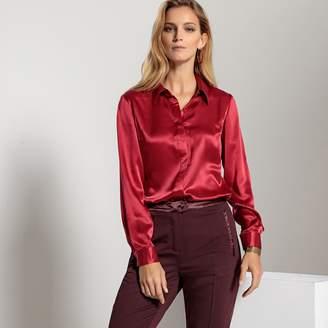 Anne Weyburn Classic Silk Blouse